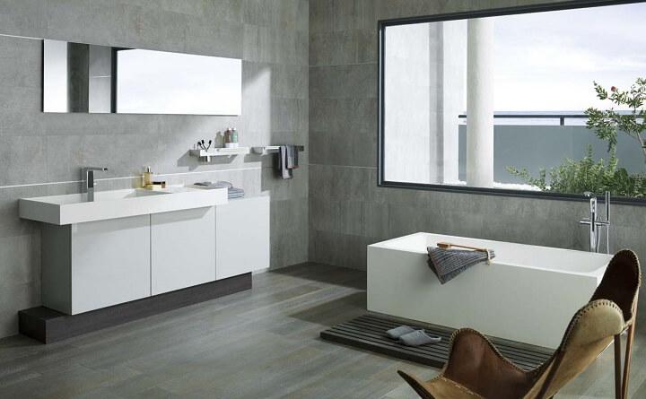 modernize the bathroom