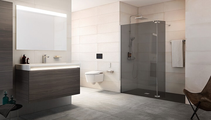 modernize the bathroom